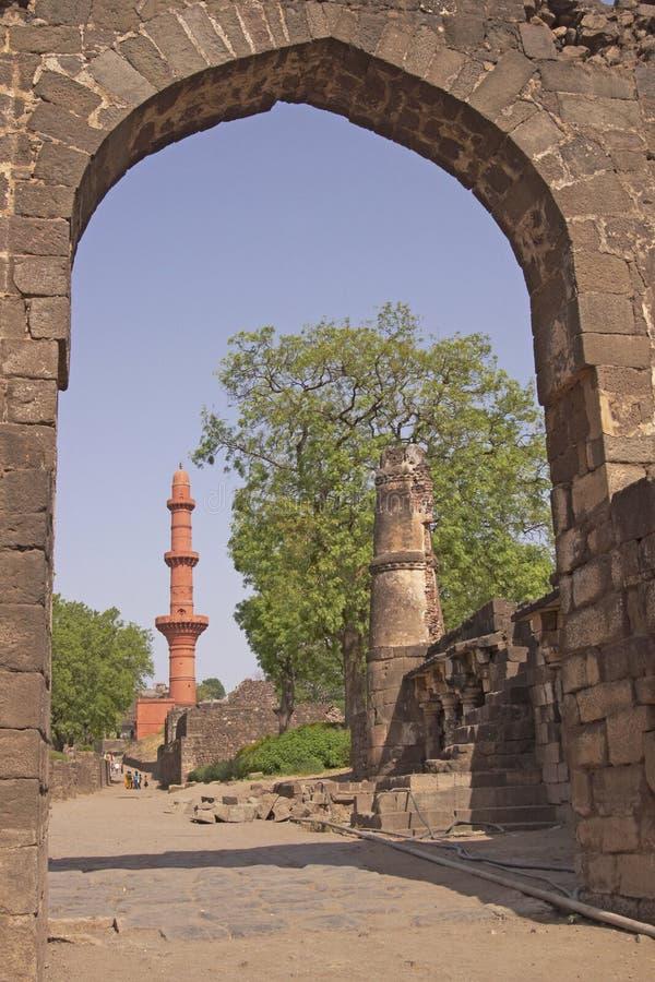 fort daulatabad indu zdjęcia stock