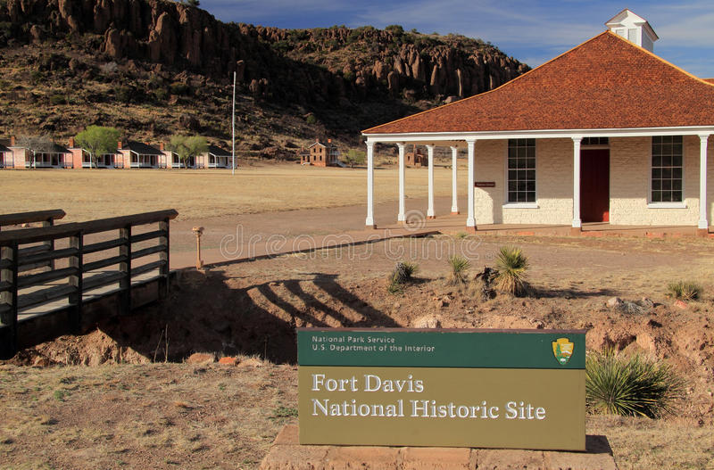 Fort Davis National Historic Site royalty free stock photos