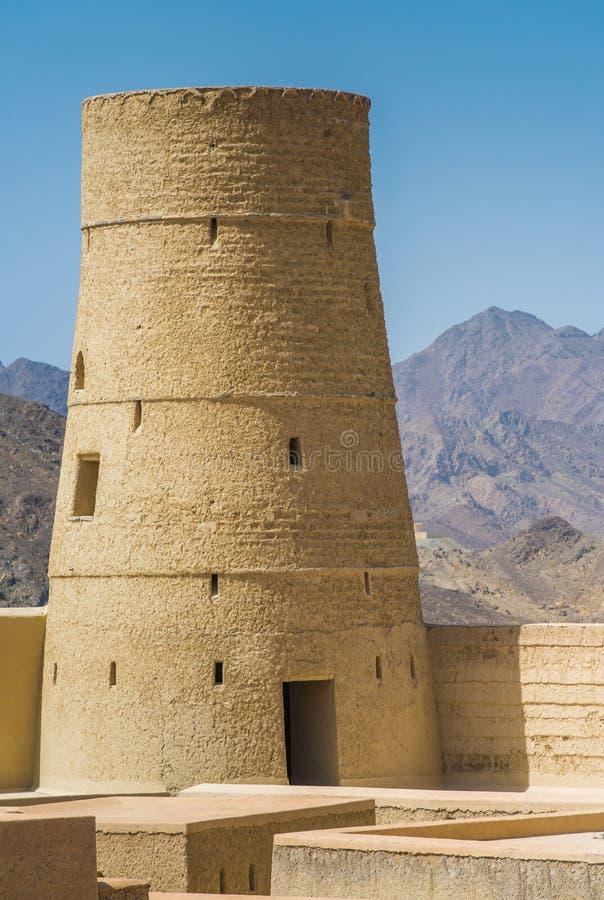 Fort de Bahla, Sultanat d'Oman image libre de droits