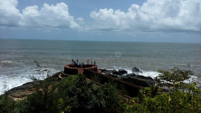 Fort de Bekal photographie stock libre de droits