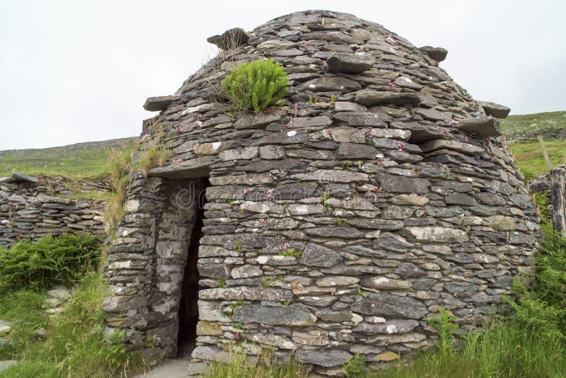 Fort de Dunbeg, Irlande image libre de droits