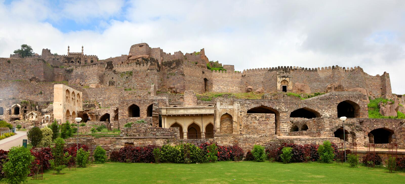 Fort de Golkonda photographie stock
