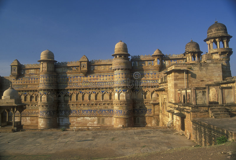 Fort de Gwalior photographie stock