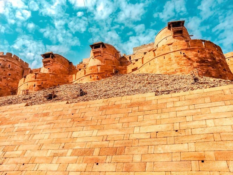 Fort de Jaisalmer au R?jasth?n, Inde images stock