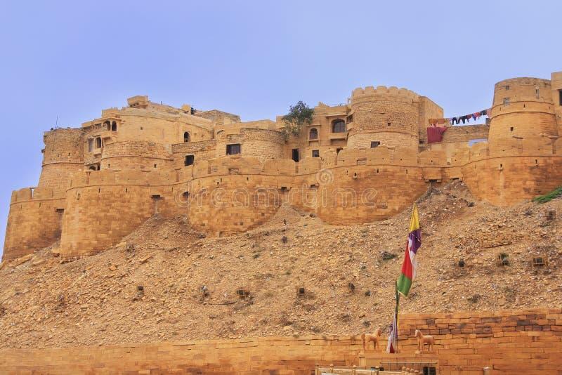 Download Fort De Jaisalmer, Ràjasthàn, Inde Image stock - Image du course, panorama: 45366461