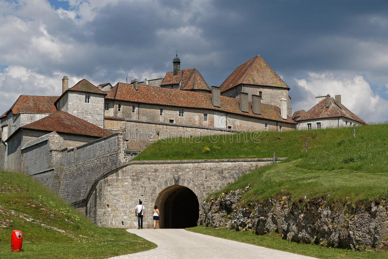 Fort de Joux stock photos