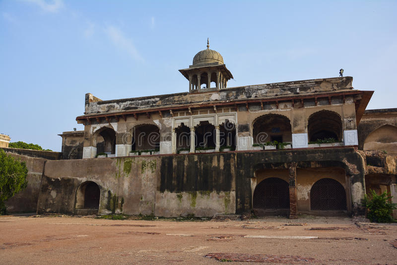 Fort de Khana-e-Khas-o-Engin Air-Air Lahore de Daulat photographie stock libre de droits
