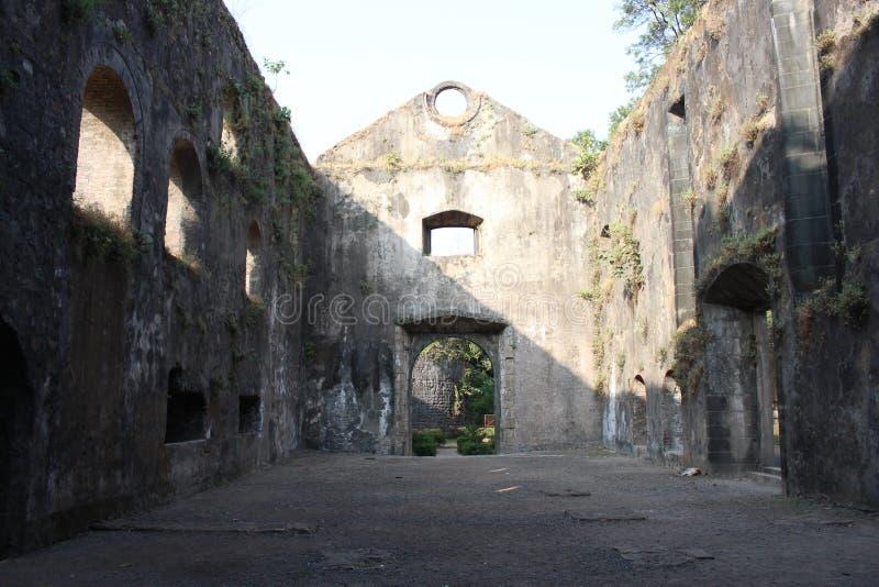 Fort de l'Inde image stock