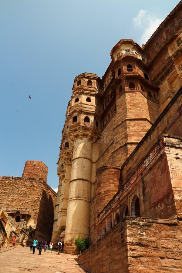 Fort de Meherangarh à Jodhpur photo stock