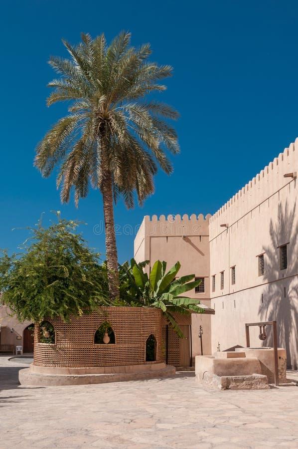 Fort de Nizwa, Oman image libre de droits