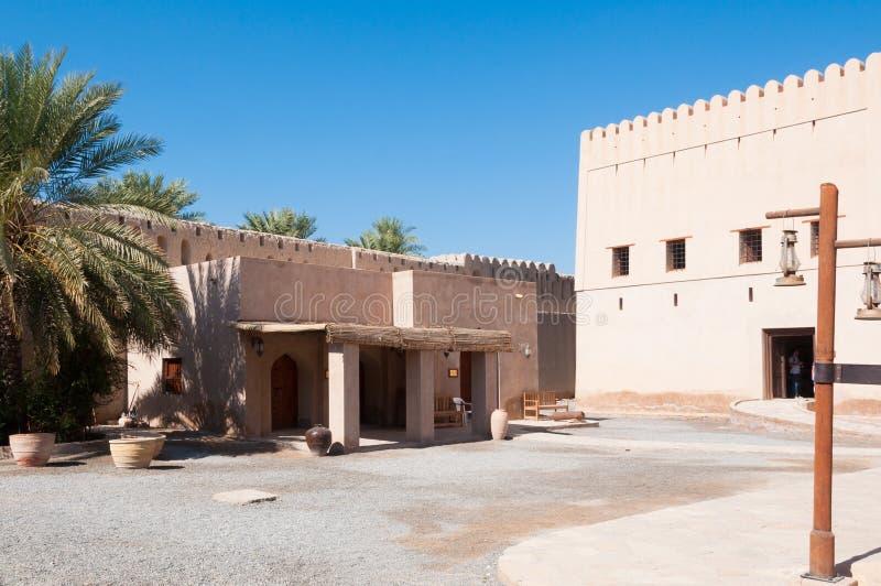Fort de Nizwa, Oman photo libre de droits