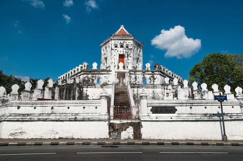 Fort de Phra Sumen photo stock