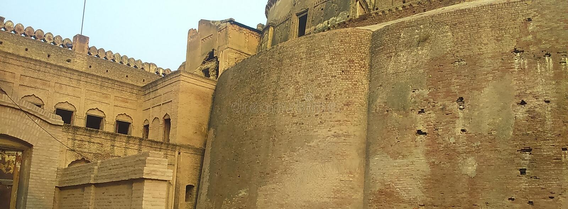 Fort de sultan de Rajia photographie stock