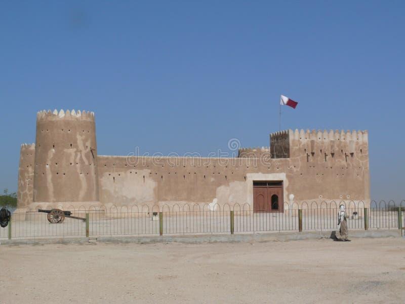 Fort de Zubarah, Qatar image libre de droits