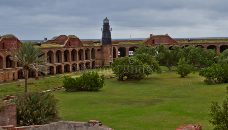 Fort at Dry Tortugas stock photos