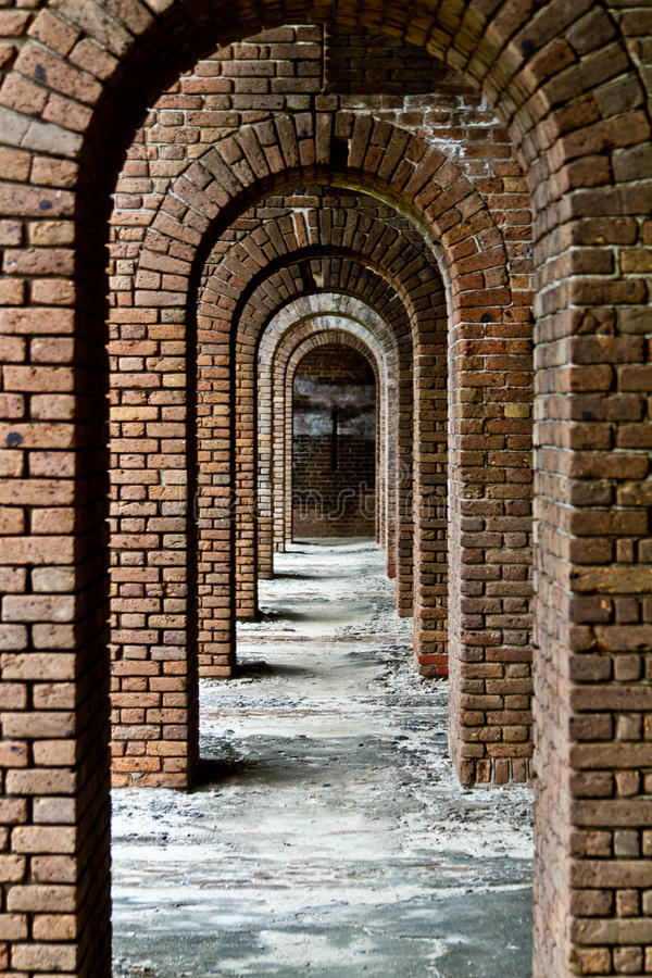 Fort at Dry Tortugas stock photo