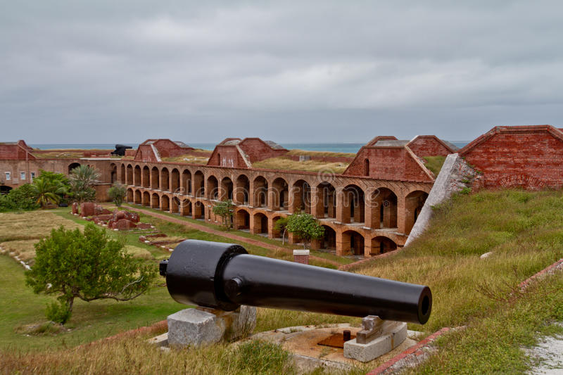 Fort at Dry Tortugas stock images