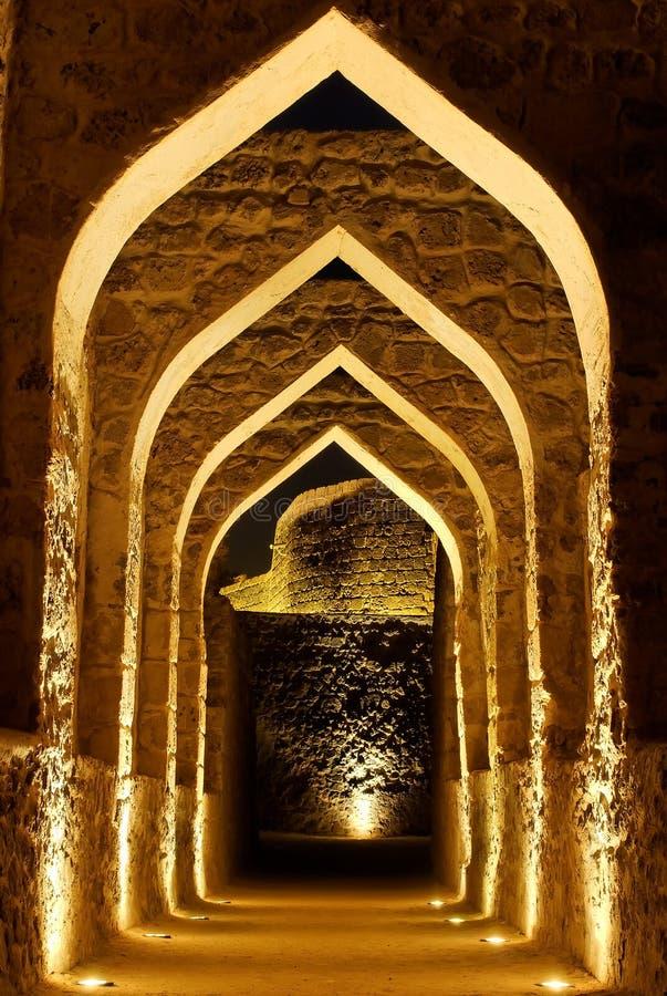 Fort du Bahrain image libre de droits