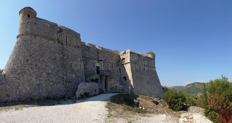 Fort Du Mont Alban zdjęcia stock