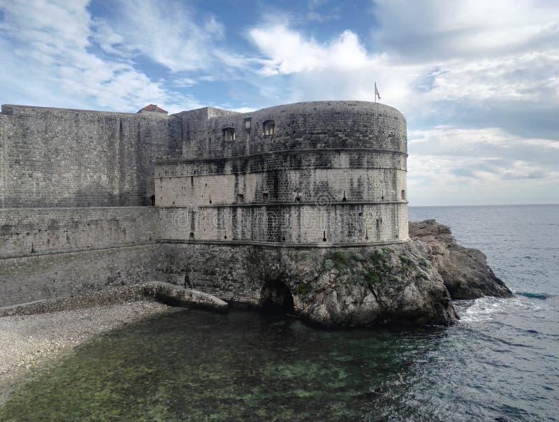 Fort in Dubrovnik, Kroatië royalty-vrije stock fotografie