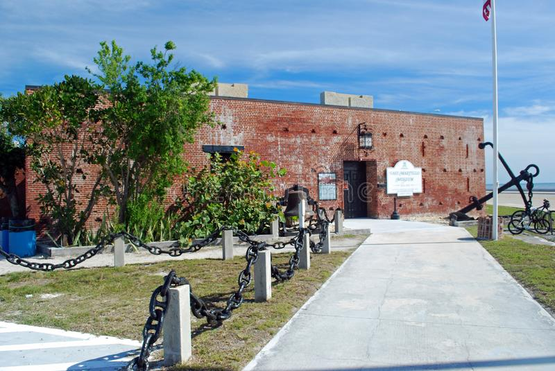 Fort east martello museum royalty free stock image