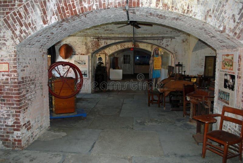 Fort east martello musuem stock photos