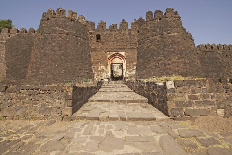 Fort-Eingang stockfotos