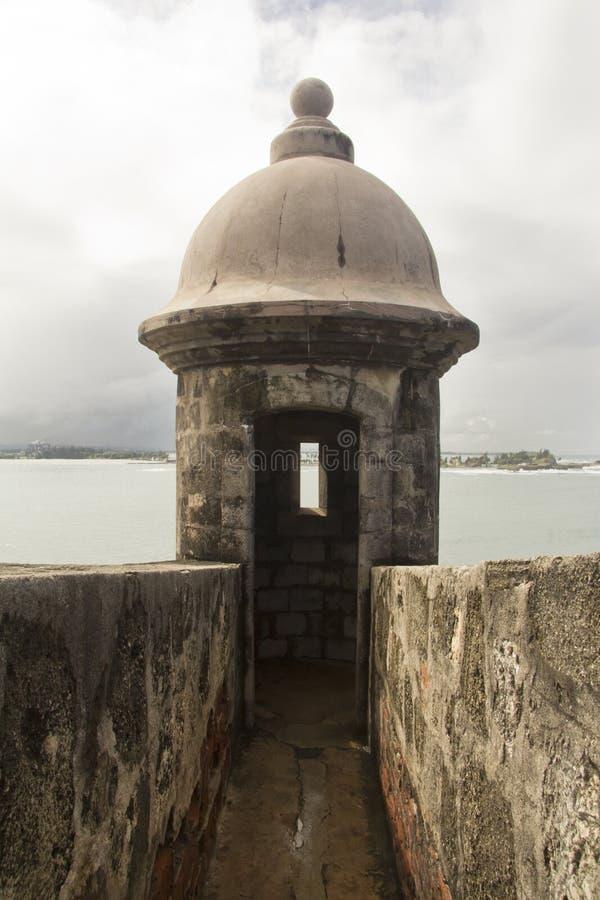 Fort El Morro - Puerto Rico royaltyfri foto