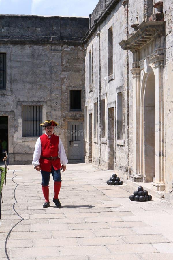Fort espagnol image libre de droits