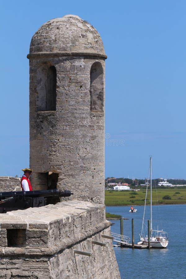 Fort espagnol photographie stock