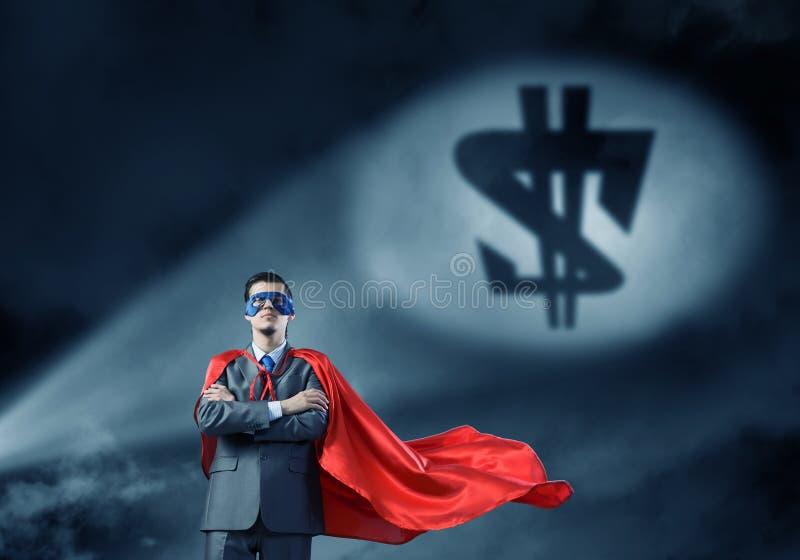 Fort et puissant comme superhéros photos libres de droits