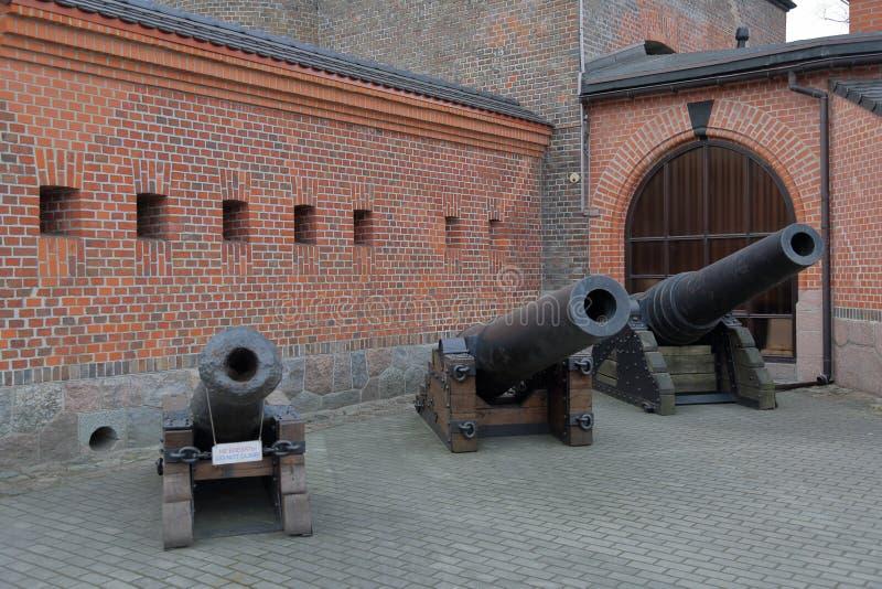 Fort Friedrichburg Kaliningrad, Rusland royalty-vrije stock foto