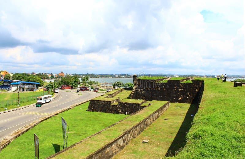 fort galle Sri Lanka royaltyfri bild