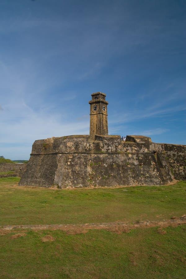 fort galle Sri Lanka arkivfoton