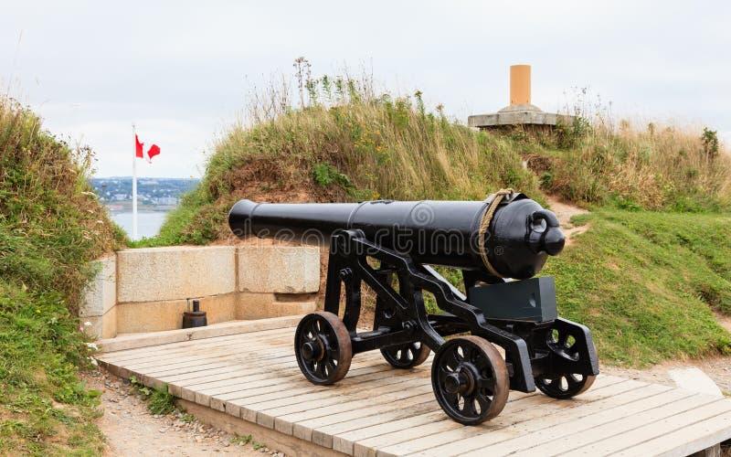 Fort George Canon images libres de droits