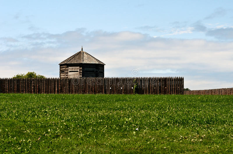 Fort George Ontario Canda photographie stock