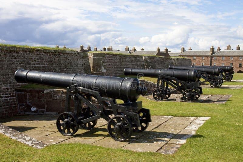 Fort George Schottland lizenzfreie stockbilder