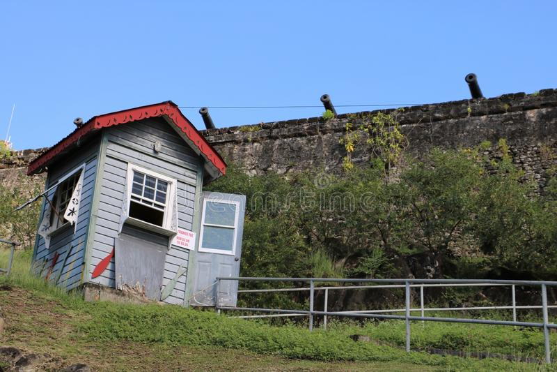 Fort George in St George ` s, Grenada stock foto