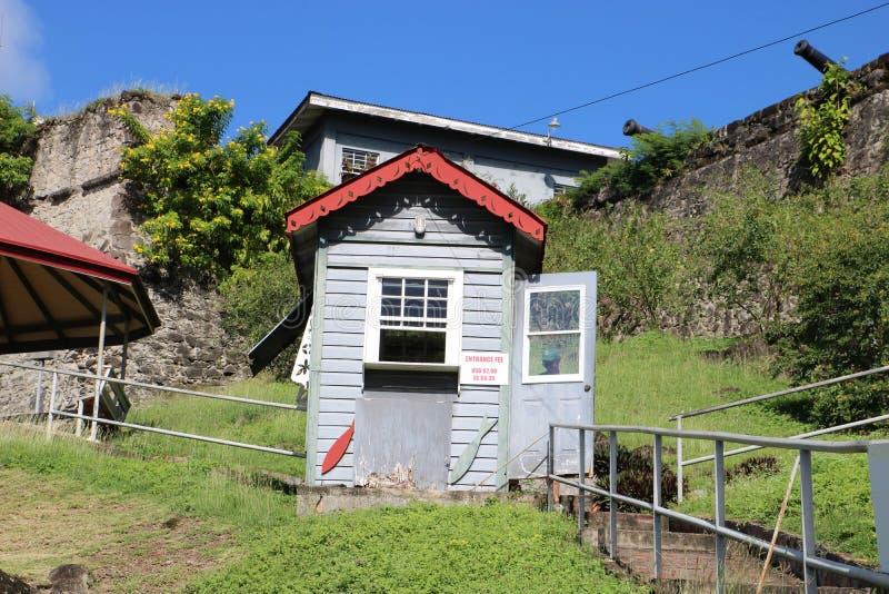 Fort George in St George ` s, Grenada royalty-vrije stock foto's