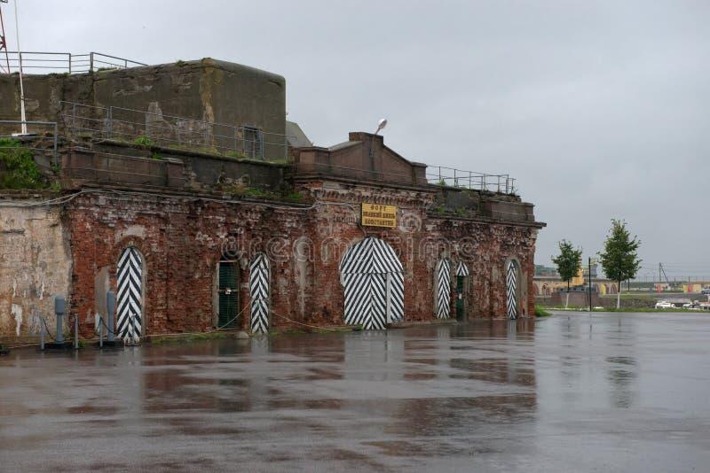 Fort Groot Duke Konstantin stock afbeeldingen