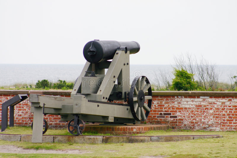 Download Fort Gun stock image. Image of naval, artillery, union - 164183