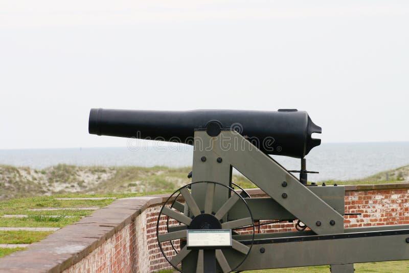Download Fort Gun2 stock photo. Image of landscape, civil, beach - 164186