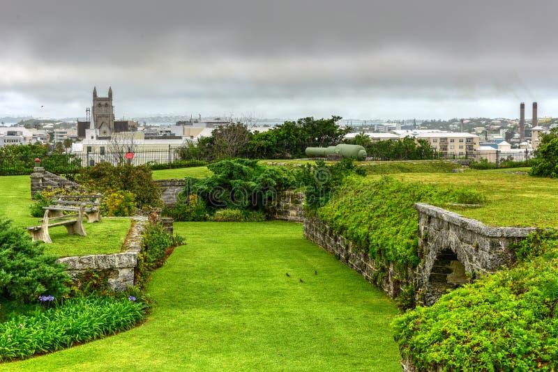Fort Hamilton, Bermuda obrazy stock