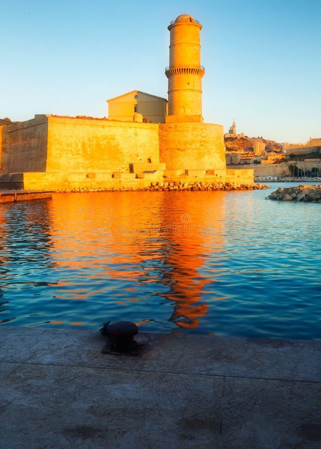 Fort heilige Jean Marseille royalty-vrije stock afbeeldingen