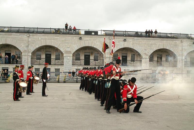 Fort Henry Guard stock fotografie