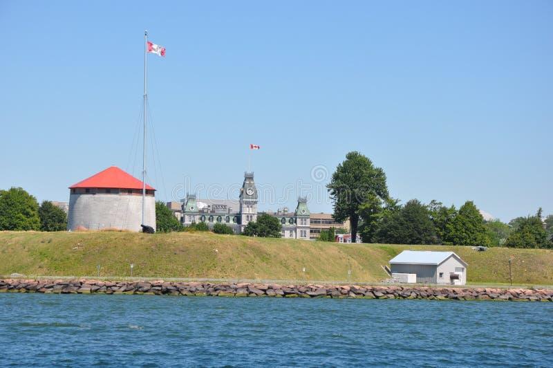 Fort Henry in Kingston, Canada royalty-vrije stock foto's