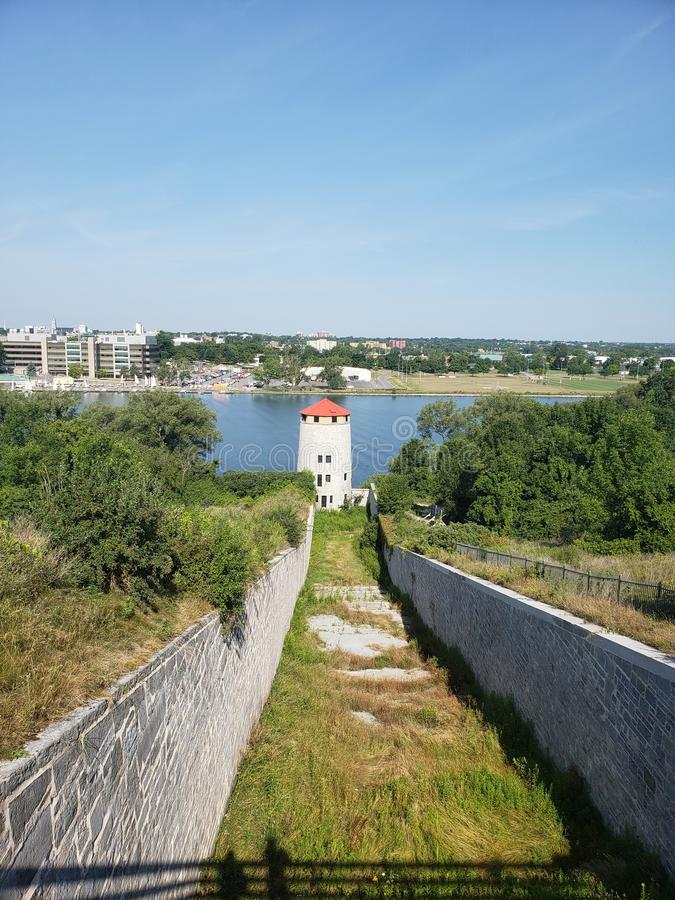 Fort Henry Kingston Ontario zdjęcia stock