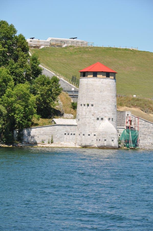 Fort Henry w Kingston, Kanada obrazy royalty free