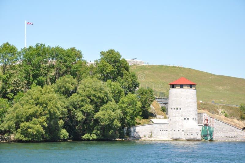 Fort Henry w Kingston, Kanada zdjęcia stock