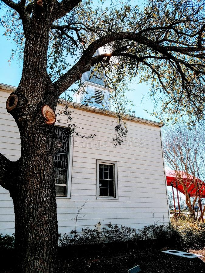 Fort Hood Chapel stock photo